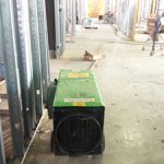 Portable heater for Construction