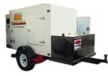 Hydronic Heaters on Trailer