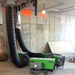 Temporary heaters in Rego Park New York business