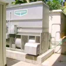 Air Purification Rentals - Industrial air chiller