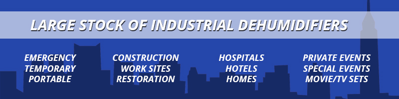 Industrial Dehumidifier banner