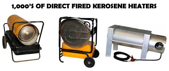 Heater equipment Rental service