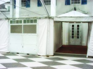 Event planning climate control - Outdoor tent heaters