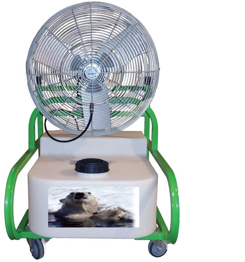 misting fan rental