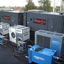 rental air chilling equipment for cooling