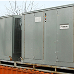 TEMPORARY PORTABLE INDUSTRIAL STEAM HOT WATER AIR HANDLERS AND HEATERS FOR RENT