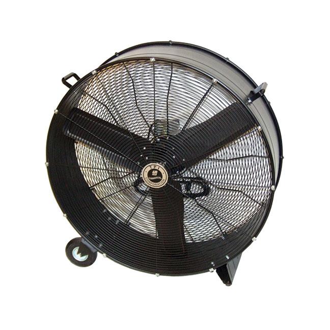 industrial rolling fan black