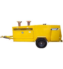 Emergency Towable Heater rental