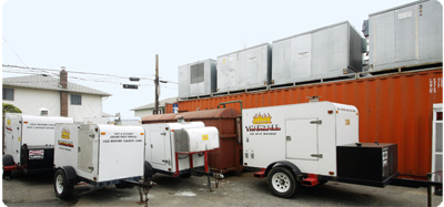 Industrial Heating Equipment for Rent