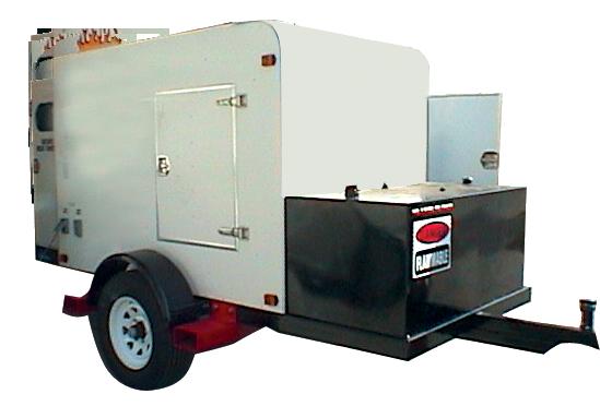 Towable Fuel Oil Heater Rentals